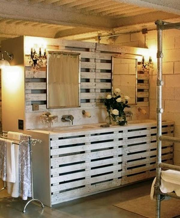 Diy Pallet Projects For Bathroom 8