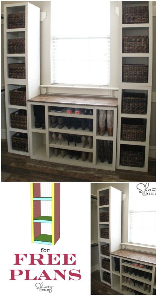 50 Decorative Rustic Storage Projects For a Beautifully Organized