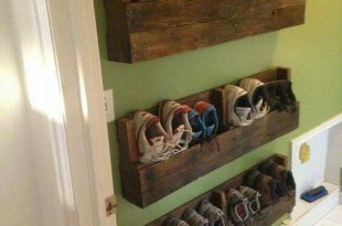 30+ Shoe Storage Ideas for Small Spaces | Diy Rustic Home | Diy shoe