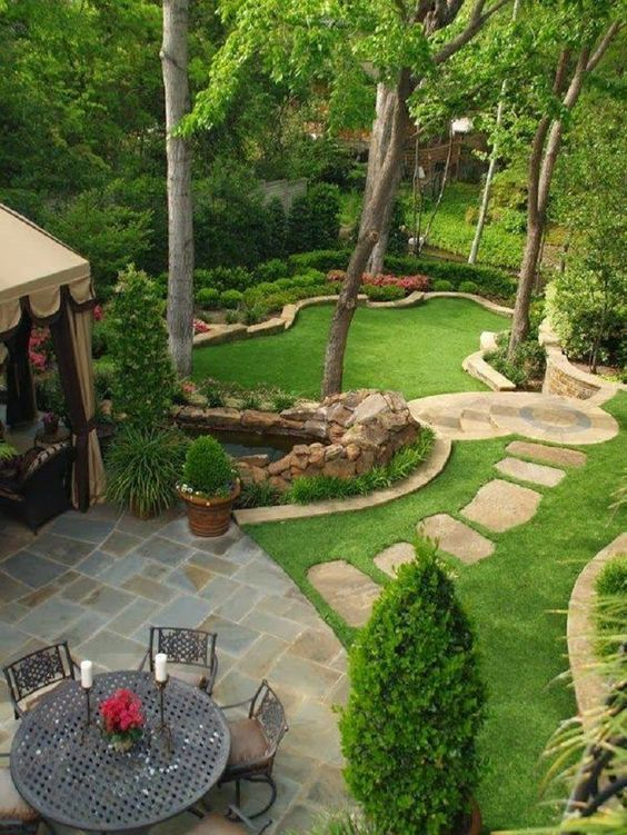 34 Of The Most Luxury And Elegant Backyard Design You'll Ever See