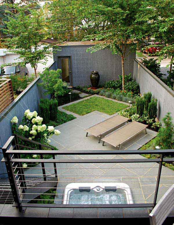 Elegant Backyard Design 10