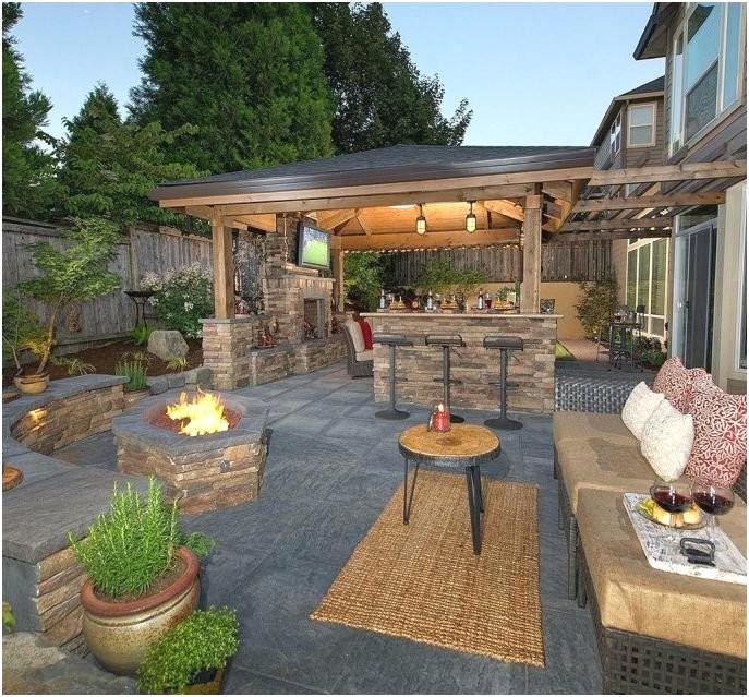 Elegant Backyard Design 6