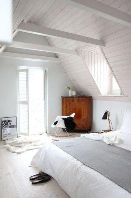 49 Elegant Modern Attic Ideas | Attic | Pinterest | Attic bedrooms