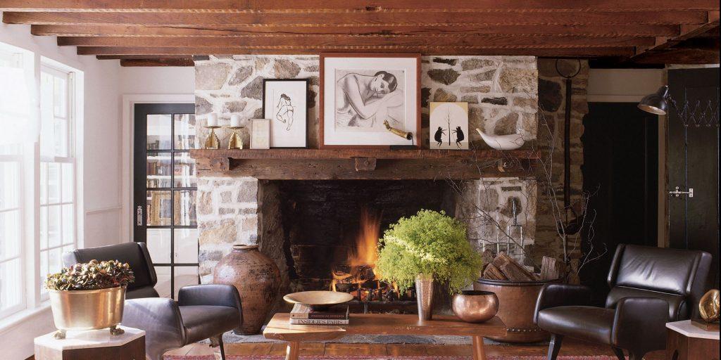 Elegant Modern Chimney Ideas 1