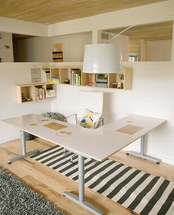 Elegant And Modern Home Office Design For A Stylish Working Space
