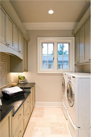 Traditional (Victorian, Colonial) Laundry Room by Cheryl Kees