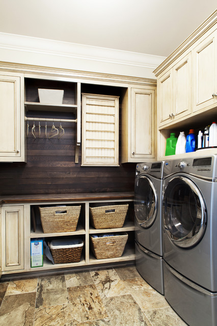 17 Elegant Traditional Laundry Design Ideas