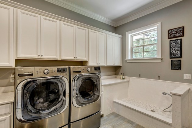 Elegant Traditional Laundry Ideas
