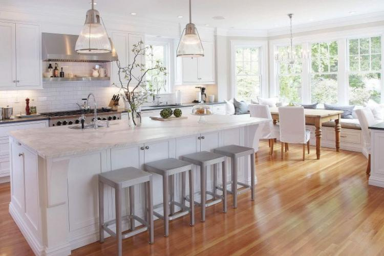 20 Wonderful Examples Of Wood Laminate Flooring For Your Kitchen Ideas