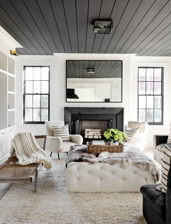 6 Paint Colors That Make A Splash on Ceilings in 2019 | {Home} House