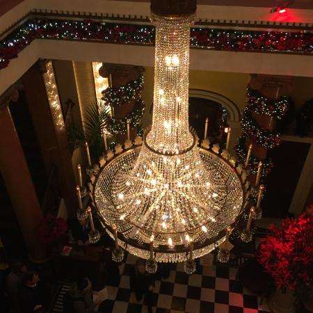 One of the fabulous chandeliers - Picture of The Dome, Edinburgh