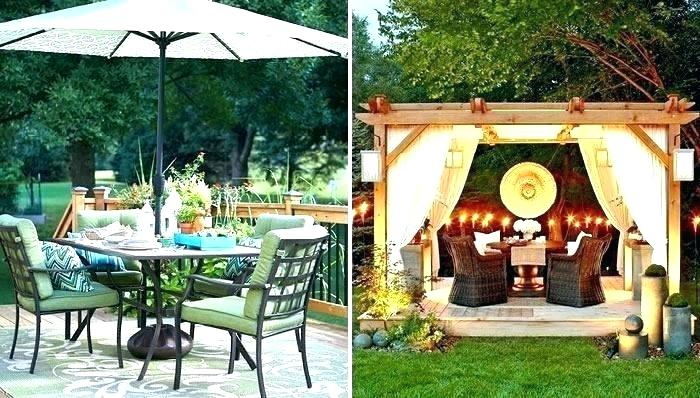 Patio ~ Patio Decorating Ideas Pinterest House Of Design Garden On A
