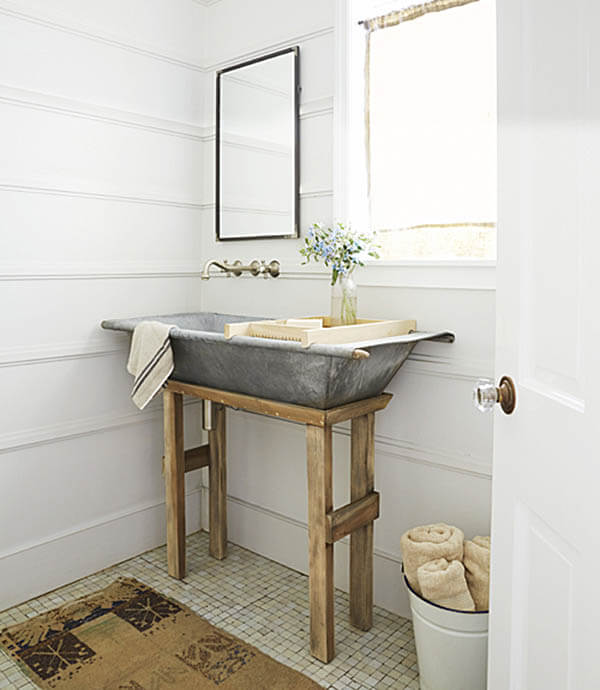 Farmhouse Bathroom Decor Ideas 2