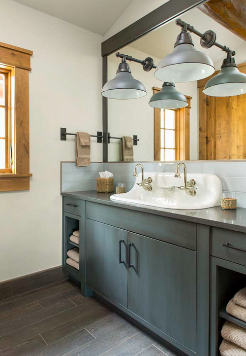 20 Beautiful Farmhouse Bathroom Decor Ideas - How To: Simplify