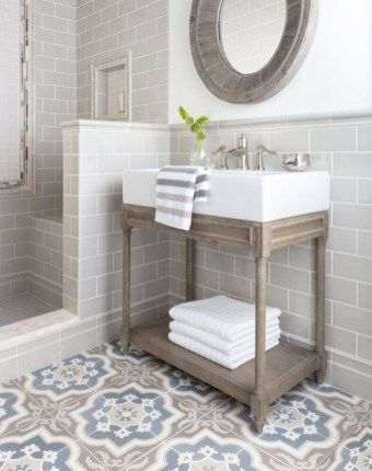 39 Fabulous Farmhouse Bathroom Wall Color Ideas | Farmhouse Bathroom