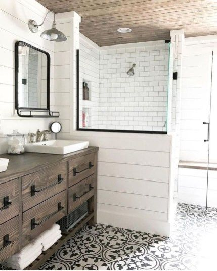 Farmhouse Bathroom Wall Color Ideas