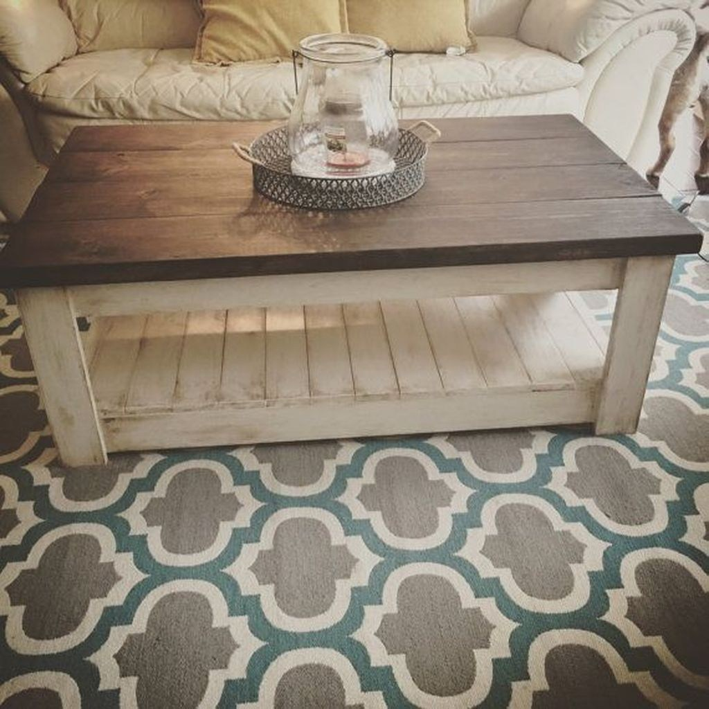 50 Creative Farmhouse Coffee Table Décor Ideas - TREND4HOMY