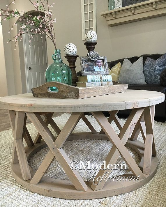 Farmhouse Coffee Table Décor Ideas