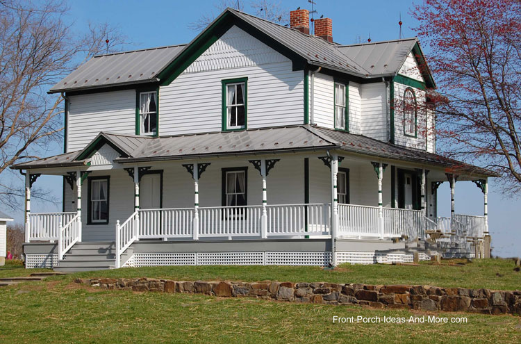 Farm House Porches | Country Porches | Wrap Around Porches