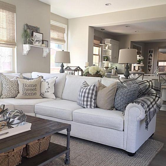 15 Gorgeous Farmhouse Decor Ideas For Your Living Room | The