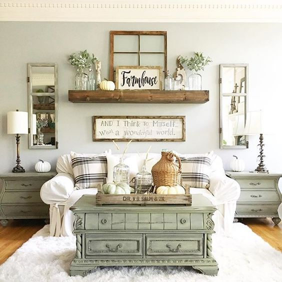 Farmhouse Living Room Decor Ideas Savillefurniture