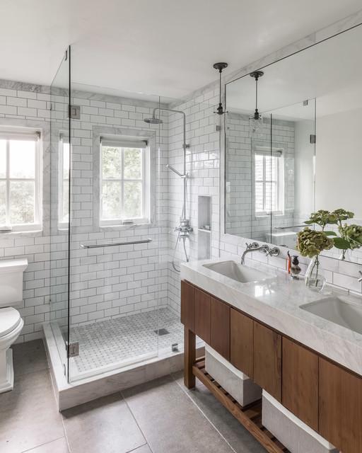 Sonoma Farmhouse - Farmhouse - Bathroom - San Francisco - by