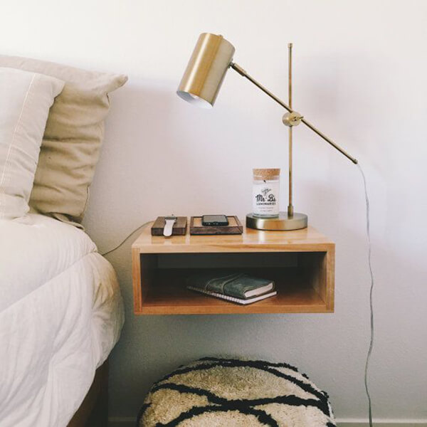 Cool Floating Nightstand Ideas For Your Bedroom | Design Swan