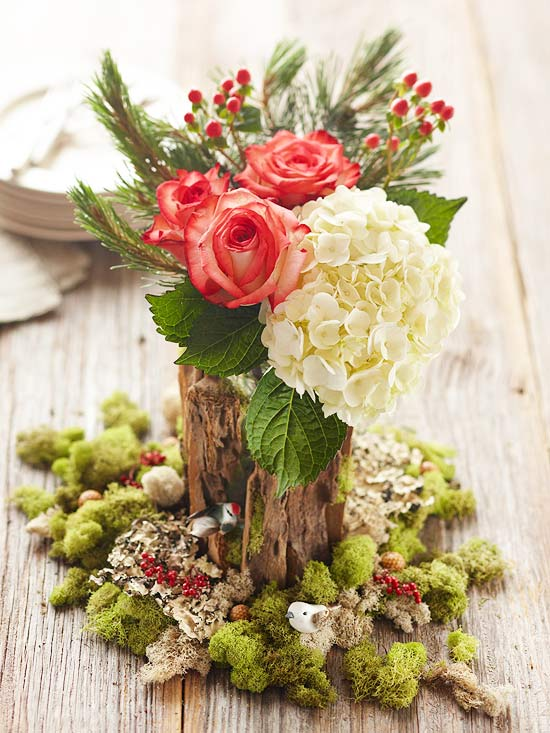 Simple Christmas Centerpieces | Better Homes & Gardens