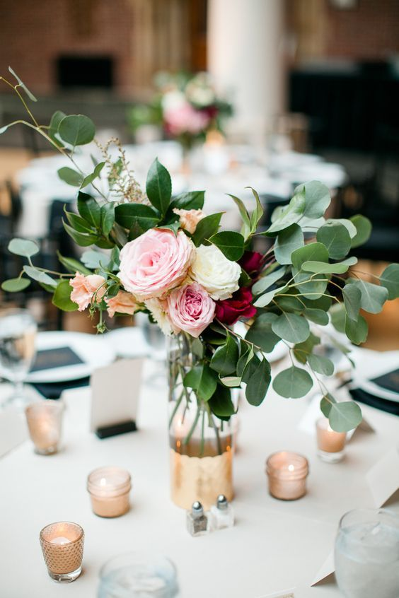 Most Stunning Round Table Centerpieces | Table deco | Wedding