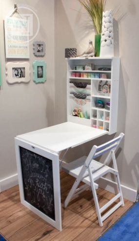 Amazing Folding Wall Table Ideas To Saving Space 46 | speelkamer