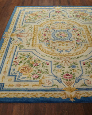 Rugs for traditional or French Country decor.