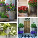 Front Door Flower Pots Ideas