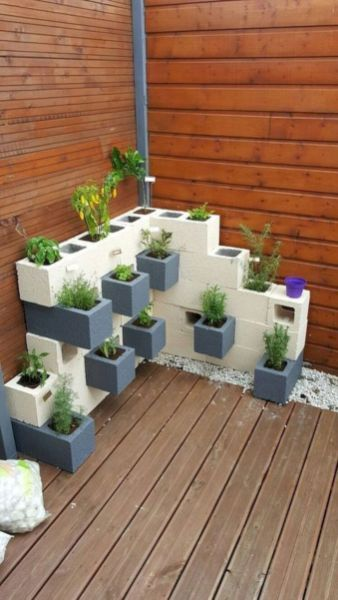 Quick, Creative And Functional Ways To Use Cinder Blocks 13