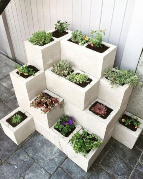 Quick, Creative And Functional Ways To Use Cinder Blocks 11 | Yard