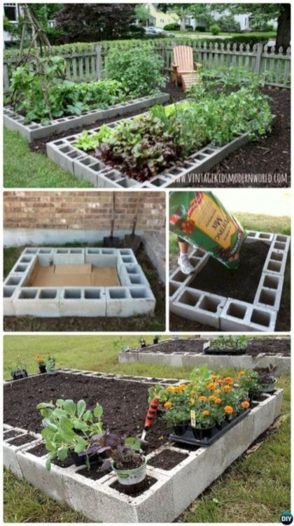 Quick, Creative And Functional Ways To Use Cinder Blocks 25 | Camper
