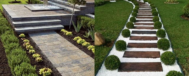Top 70 Best Walkway Ideas - Unique Outdoor Pathway Designs