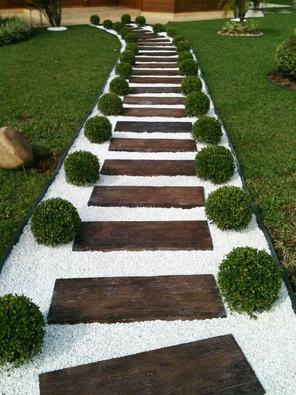 30+ Walkways Landscape And Garden Path Design Ideas - TopDesignIdeas
