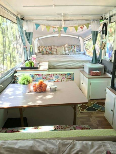 Wonderful Glamper Camper Trailer Remodel 14 | Rv remodel | Camper