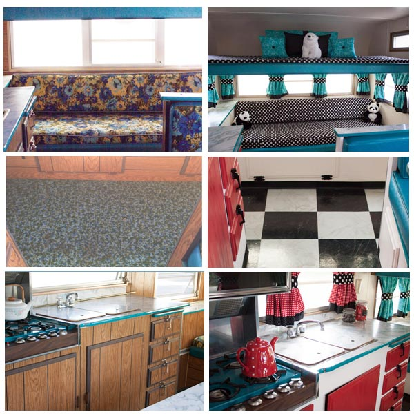 Retro Camping Trailer Remodel - The Crafting Chicks