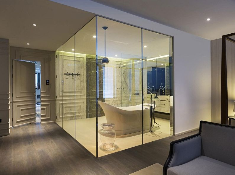 Glass Partition For Your Living Room 2