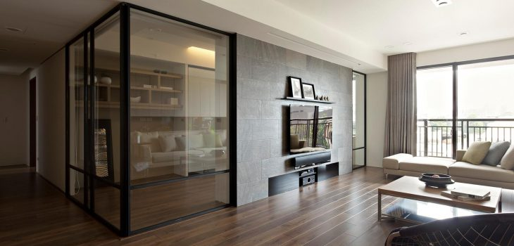 Glass Partition For Your Living Room 5