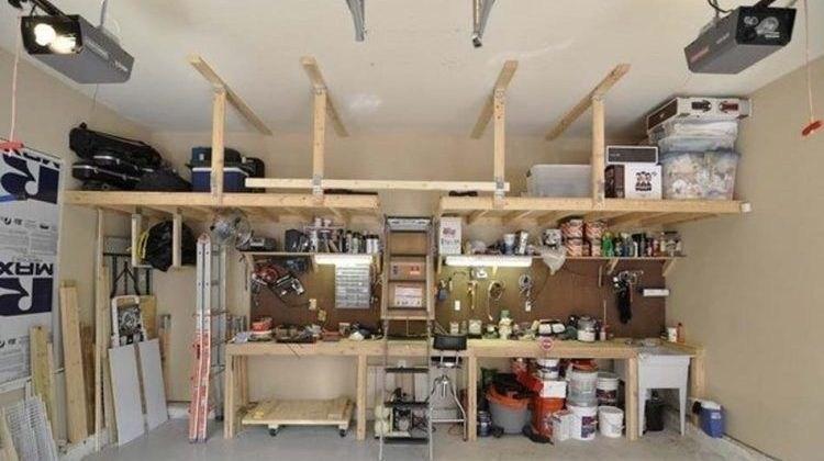Creative diy hacks tips garage storage organizations ideas 19