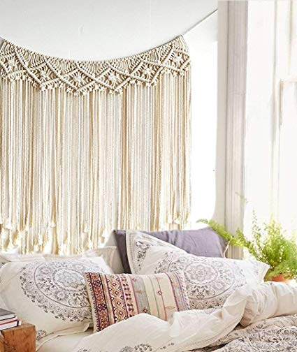 Amazon.com: Macrame Wall Hanging Boho Wedding Hanger Cotton Handmade