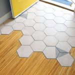 Hexagon Tile Transitions Design