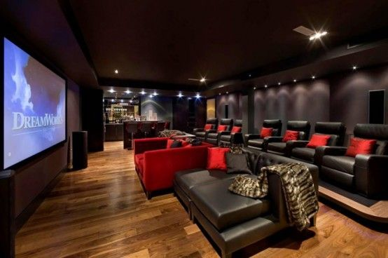 Best 15 Home Theater Design Ideas | Media/ Game Rooms | Home theater