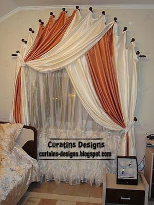Arched windows curtain designs ideas for bedroom | Window coverings