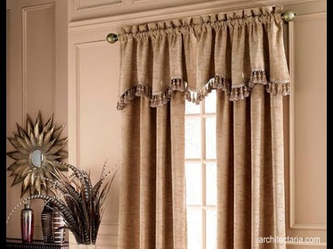 Curtains Design Ideas 2018 ! curtain design for home interiors - YouTube