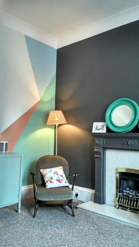 Anímate a decorar tu living con diseños geométricos | home decor