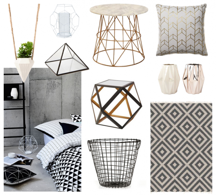 GEOMETRIC HOME DECOR - SARA ELMAN