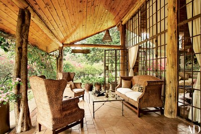 How to Elegantly Style a Log Home | Architectural Digest
